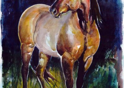 Horse art with Rufina Liumanova