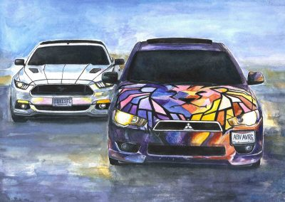 Order car artwork on-line