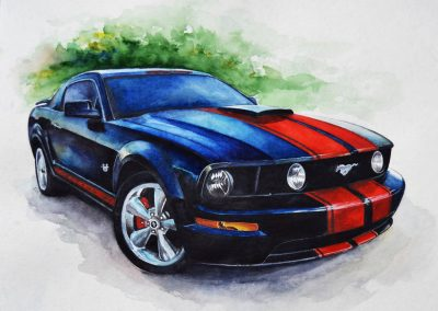 Gallery of Ford Mustang posters