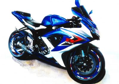 Suzuki-GSX motorsport artwork