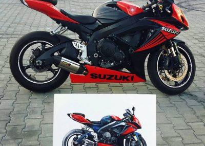 Suzuki motorsport art