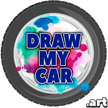 Car Paintings & Automotive Art Drawing