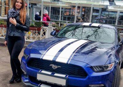 Muscle car artists USA