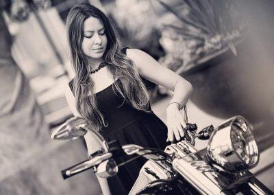 Motorcycle artist Rufina