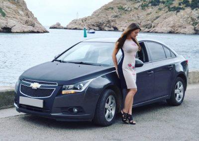Rufina artist and car